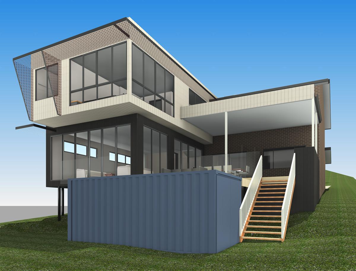 Blencowe Modern Lake project